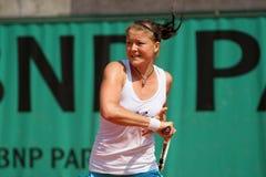 Dinara SAFINA (RUS) at Roland Garros 2010 Stock Images
