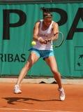 Dinara SAFINA (RUS) at Roland Garros 2010. PARIS - MAY 21: Dinara SAFINA of Russia during her practice at French Open, Roland Garros on May 21, 2010 in Paris Stock Photo