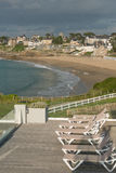 Dinard, Brittany. Dinard panorama, famous holiday destination in Brittany Royalty Free Stock Image