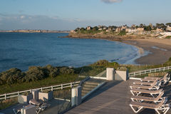 Dinard, Brittany. Dinard panorama, famous holiday destination in Brittany Stock Photos