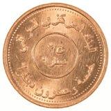 25 dinari iracheni di moneta Fotografia Stock Libera da Diritti
