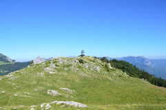 Dinaric-Alpen in Bosnien und Herzegowina Stockfotografie