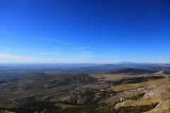 Dinaric Alpen (Kroatien) Stockfoto