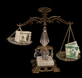 dinars dollarirakier oss Royaltyfri Bild
