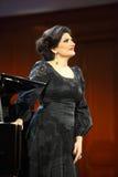 Dinaru Aliyeva piosenkarz. Muzyka klasyczna koncert w Moskwa conserv Obrazy Royalty Free