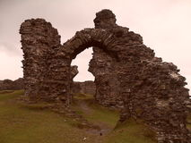 Dinas bran castle Stock Images