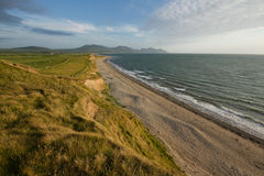 Dinas Dinlle Stock Photo