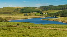 Dinas Reservoir, Ceredigion, Wales, UK Royalty Free Stock Images