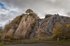 Dinas Rock at Pontneddfechan Royalty Free Stock Photo