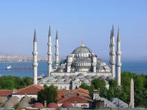 dinde bleue de mosquée d'Istanbul Photographie stock