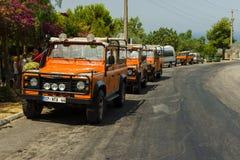 dinde de safari de montagnes de jeep d'alanya Image stock