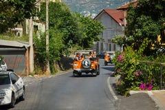 dinde de safari de montagnes de jeep d'alanya Images libres de droits
