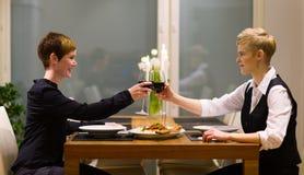 Diner Stock Afbeelding