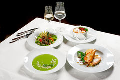 Diner Royalty-vrije Stock Fotografie