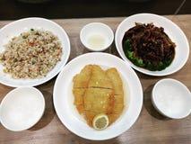 Diner bij groene draak royalty-vrije stock foto