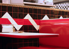 Diner Booth Stock Photography