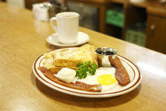 Diner breakfast Stock Photography