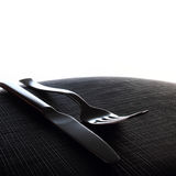 Diner cutlery Royalty Free Stock Photography