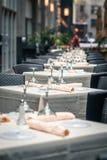 Diner in de stad Stock Afbeelding