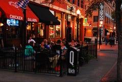 Diner de West End Image libre de droits
