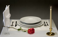 Diner fin Photo stock