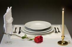 Diner fin Photo libre de droits