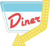 Diner Halt Stock Photo