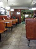 The Diner Royalty Free Stock Photo