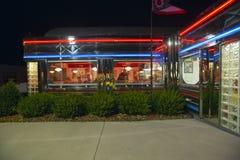 Diner at night Royalty Free Stock Photos