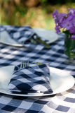Diner Place Setting Stock Photo