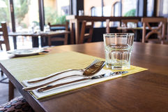 Diner Place Setting Stock Photos