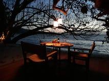 Diner privé Image stock