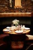 Diner in restaurant Stock Afbeelding