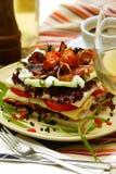 Diner in restaurant royalty-vrije stock foto's