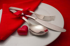 Diner romantique photos stock