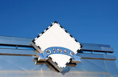 Diner Sign Royalty Free Stock Photo