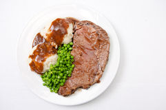 Diner style roast beef Royalty Free Stock Photos
