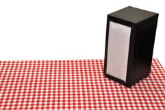 Diner Table Stock Photography