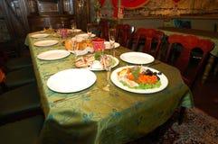 Diner voor 10 stock foto's