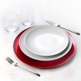 Diner voor  royalty-vrije stock fotografie