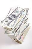 Dinero, 100 dólares Fotos de archivo