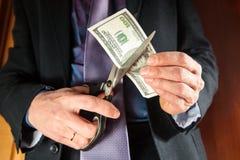 Dinero adentro Imagen de archivo libre de regalías