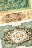 Dinero alemán viejo Fotografía de archivo libre de regalías
