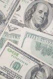 Dinero americano Foto de archivo libre de regalías