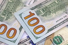 Dinero americano Imágenes de archivo libres de regalías