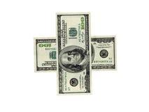 Dinero americano Fotografía de archivo