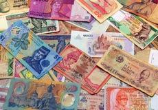 Dinero asiático Fotos de archivo libres de regalías