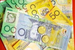 Dinero australiano imagen de archivo libre de regalías