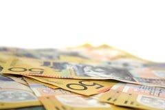 Dinero australiano Foto de archivo