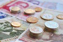 Dinero búlgaro Imágenes de archivo libres de regalías